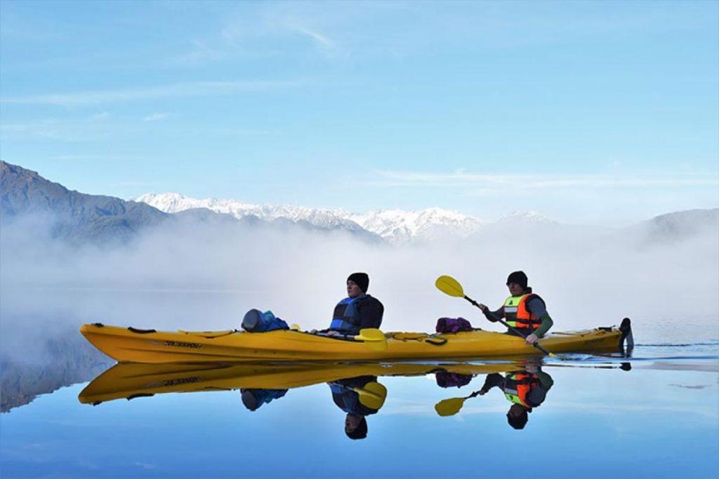 Women group trip New Zealand