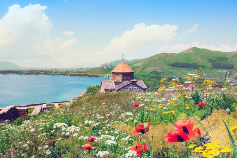 women traveling solo to Lake Sevan armenia