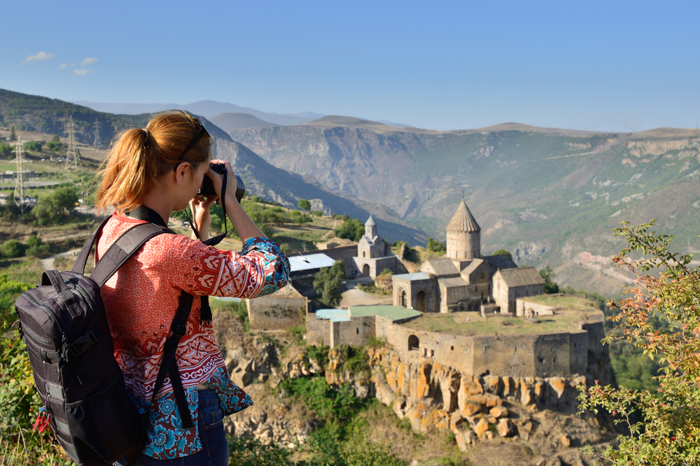 solo female travel tour to armenia