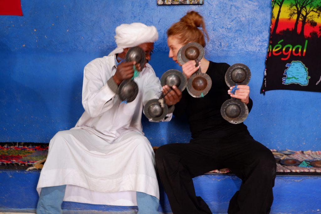 dancing in morocco