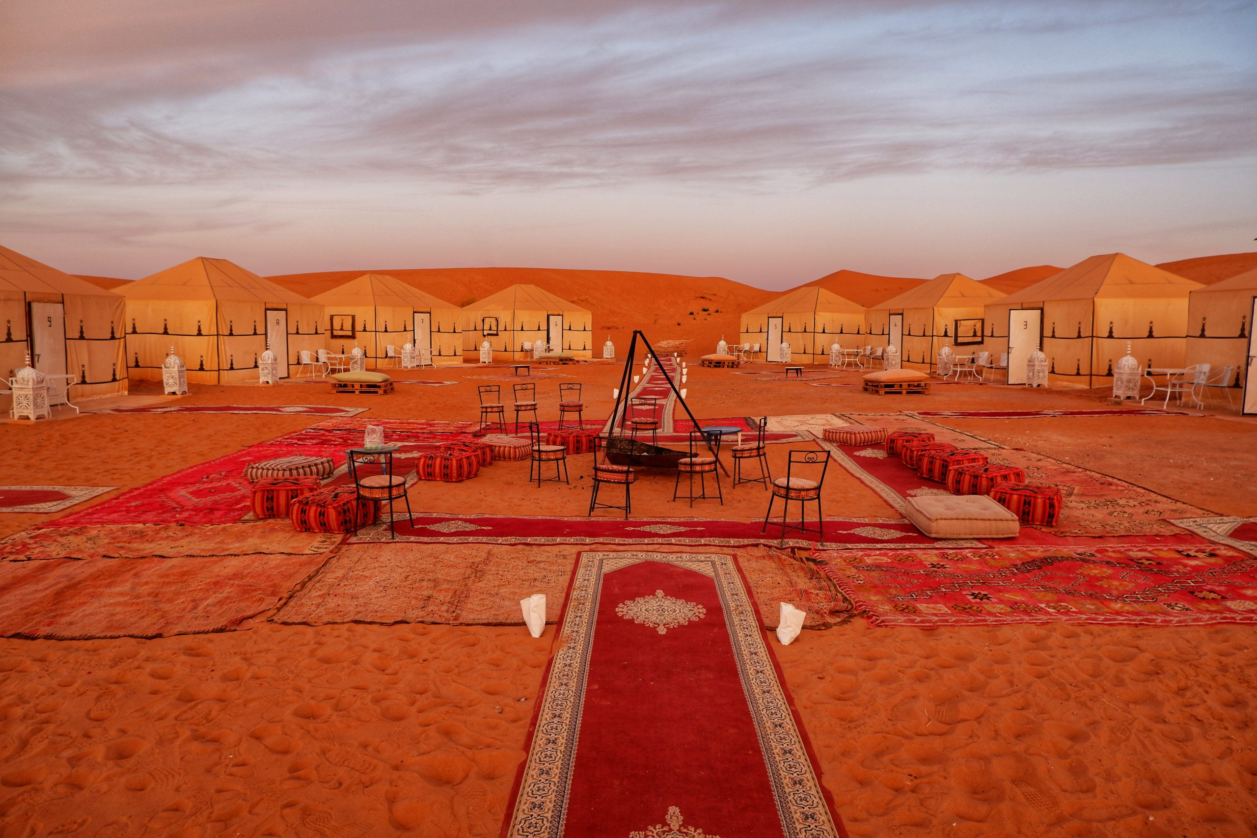 Morocco camp with female solo travel