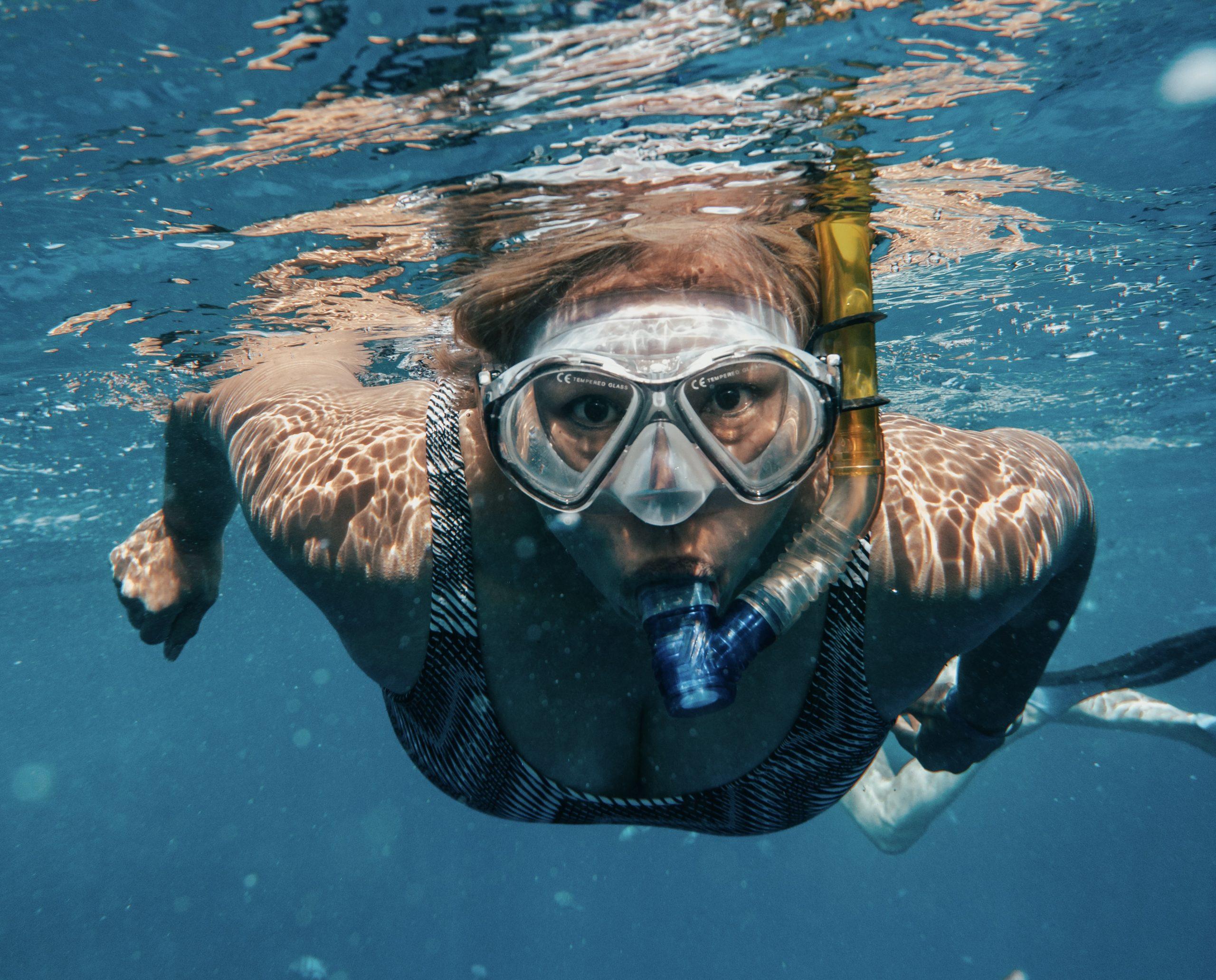 Swimming in Soma bay