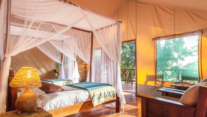 Camp in Kenya
