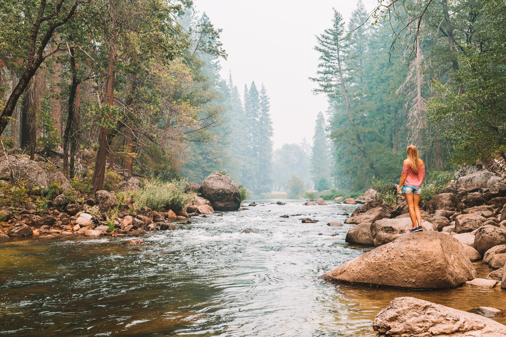 solo female traveler's tour of Yosemite