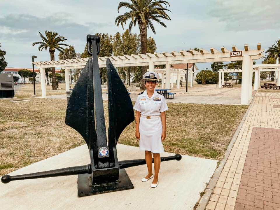 featured member US Navy officer