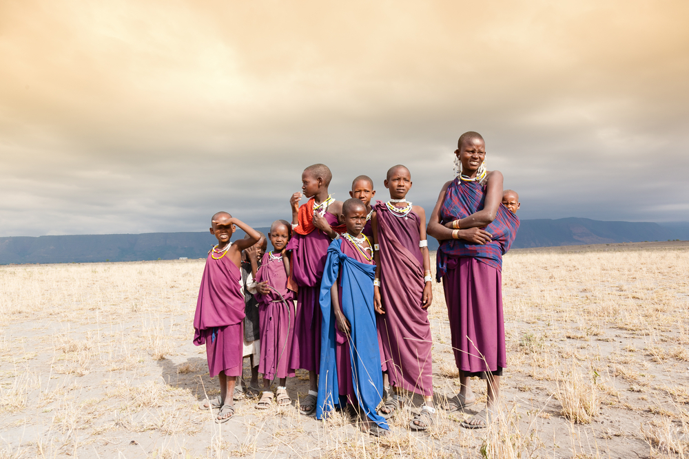 Family in Kenya