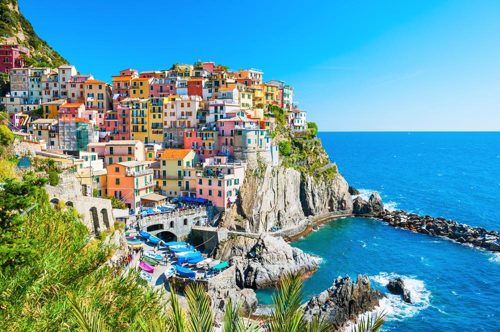 colorful buildings of Cinque Terre, Italy