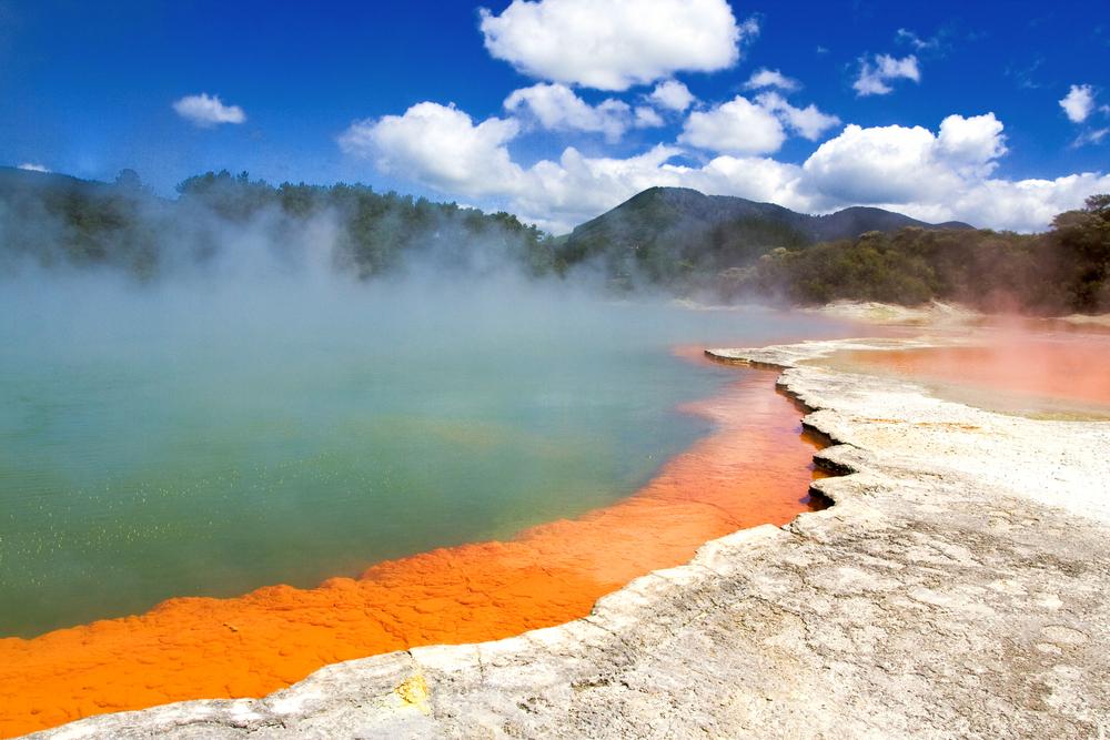 Rotorua Hot Springs, New Zealand