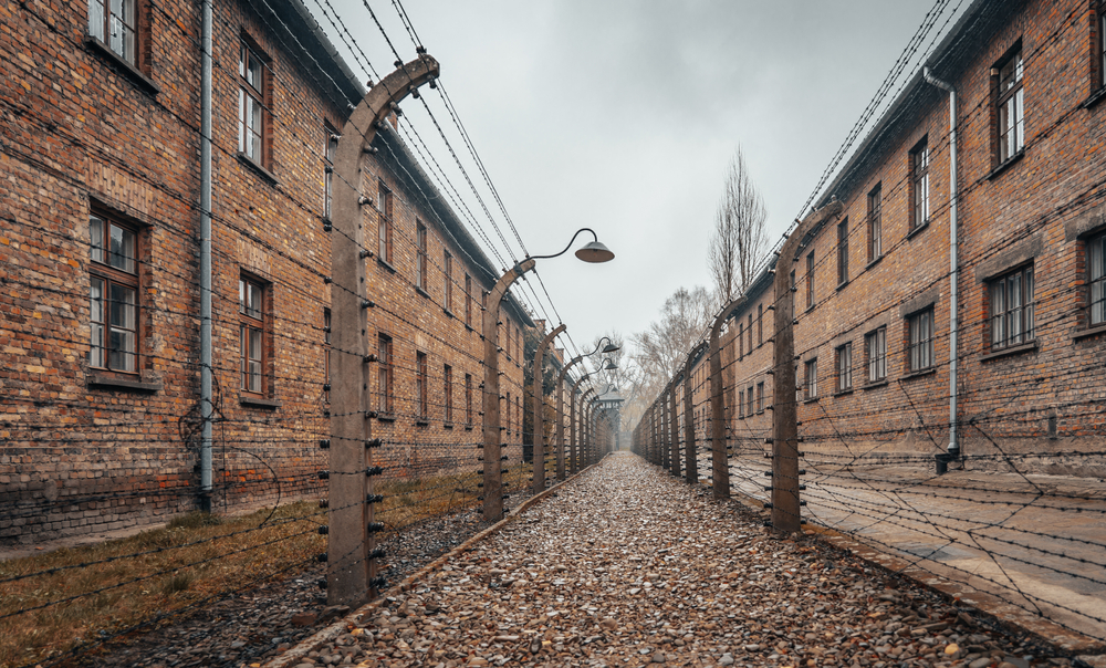 dark tourism concentration camp