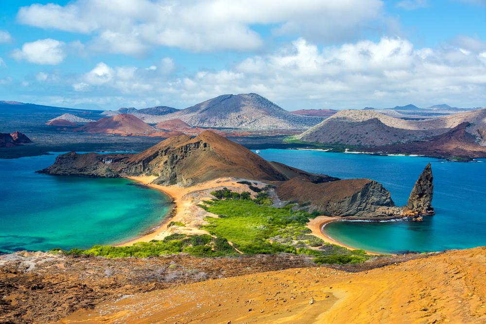 Bartolome Island view
