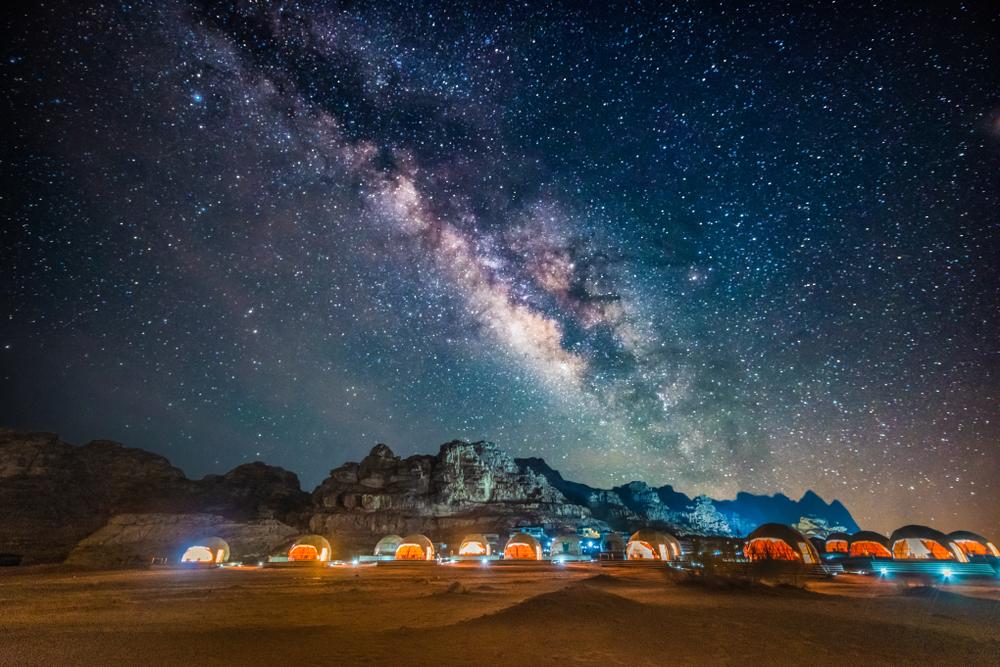 Wadi Rum Starry sky