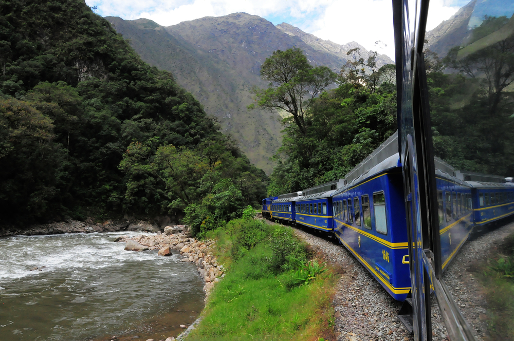 Train Ride Andes Mountains
