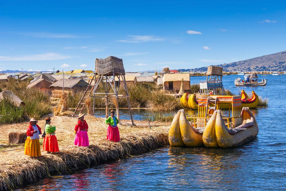 Titicaca Lake Boat
