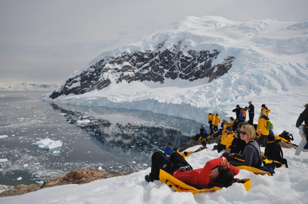 women in antarctcia