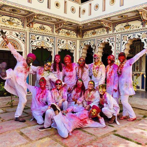 Holi Festival Solo Female Network tour
