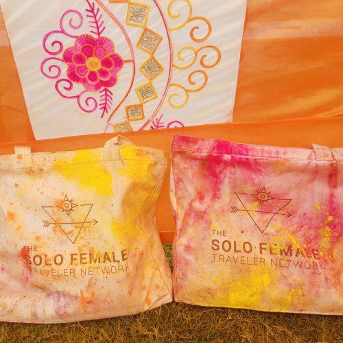 The solo female network bag