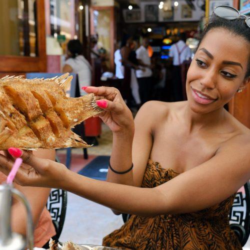Cuba Solo Female Tour Food