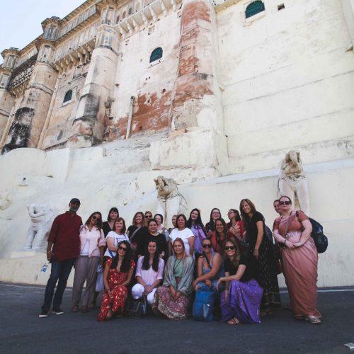 Female Nework tour India
