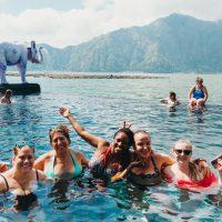 Women group solo trip